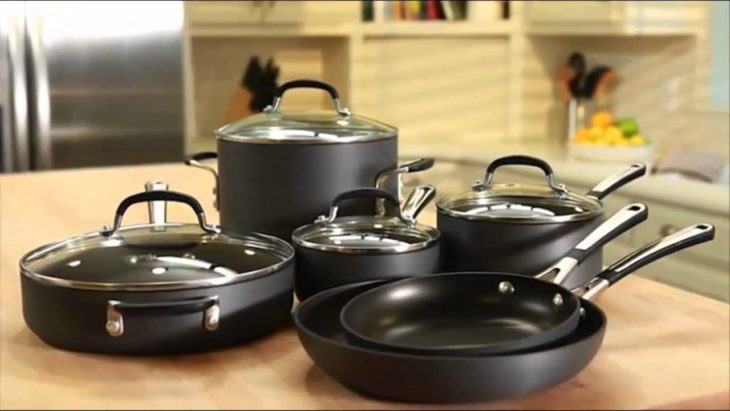 Simply Calphalon Nonstick 10-Piece Cookware Set