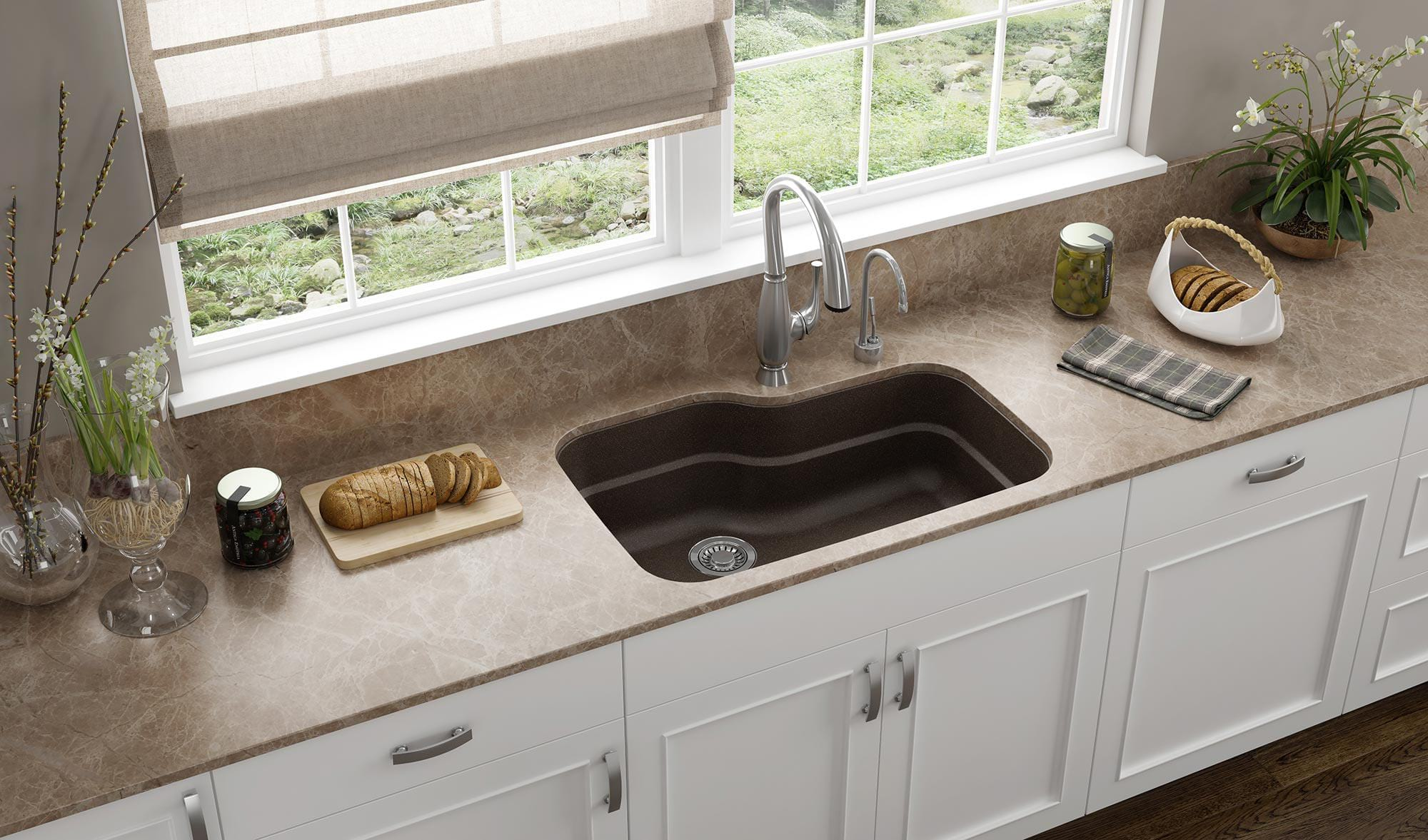 Best Undermount Kitchen Sinks for Granite Countertops With Buying ...