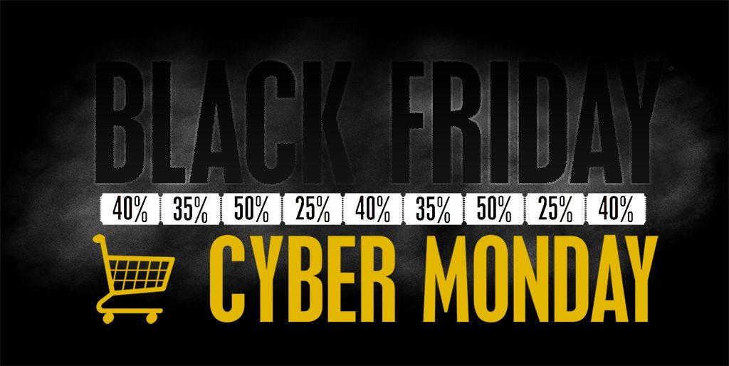 Black friday and cyber monday 2018 deals